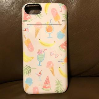 アフタヌーンティー(AfternoonTea)のAfternoonTea★iPhone6,7,8 ケース ピンク トロピカル柄(iPhoneケース)