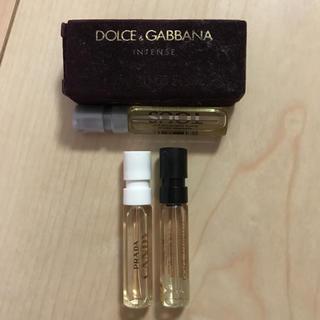 ドルチェアンドガッバーナ(DOLCE&GABBANA)の香水 サンプル(サンプル/トライアルキット)