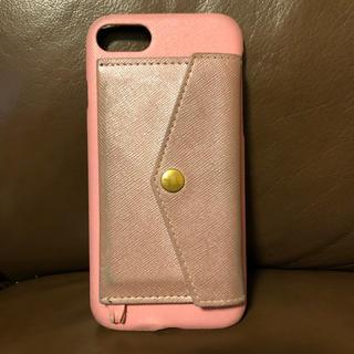 訳あり★RAKUNI★iPhone6,7,8 ケース ピンク(iPhoneケース)