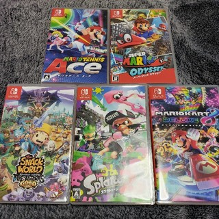 ニンテンドースイッチ(Nintendo Switch)の任天堂スイッチ ソフト5本セット(家庭用ゲームソフト)