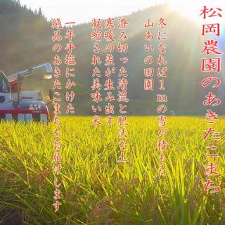 《送料込》30年産 新米100% あきたこまち 玄米20キロ 精米無料(米/穀物)