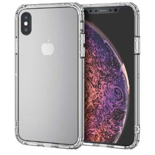 エレコム(ELECOM)のELECOM iPhone XS用 ハイブリッドバンパー バンパーケース 透明(iPhoneケース)