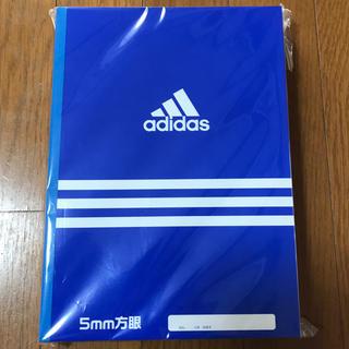アディダス(adidas)の5ミリ方眼ノート(ノート/メモ帳/ふせん)