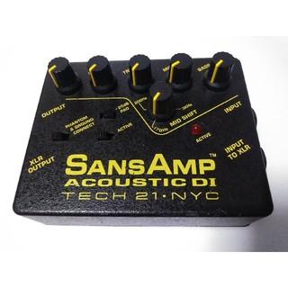 サンズアンプ アコースティック DI sansamp acoustic DI(エフェクター)