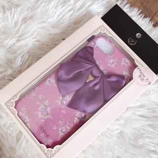 メゾンドフルール(Maison de FLEUR)のメゾンドフルール♡新品♡iPhoneカバー(iPhoneケース)