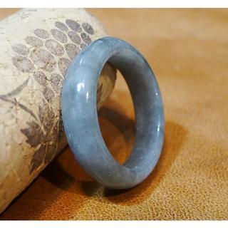 J496 ヒスイ 翡翠 リング 指輪 13号 ミャンマー ジェイド ジェダイト(リング(指輪))