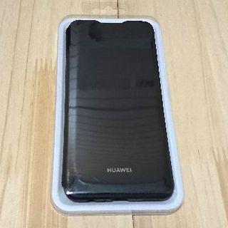 HUAWEI nova lite 3 wallet cover ブラック(Androidケース)