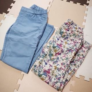 ジーユー(GU)のGU パンツ2枚セット Mサイズ(カジュアルパンツ)