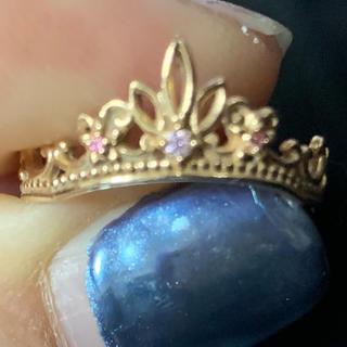 ディズニー(Disney)のDisney ディズニー ラプンツェル ティアラ リング(リング(指輪))