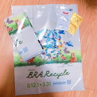 ワコール(Wacoal)のWACOAL ブラリサイクル 袋2枚(ブラ)