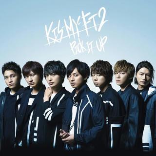 キスマイフットツー(Kis-My-Ft2)のKis-My-Ft2 CD PICK IT UP 通常盤(アイドルグッズ)