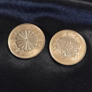 記念硬貨 御在位三十年  500円  天皇陛下御在位30年  貨幣(貨幣)