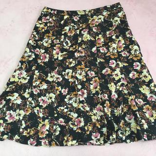 アリスバーリー(Aylesbury)の美品 ♡ アリスバーリー フラワースカート(ひざ丈スカート)