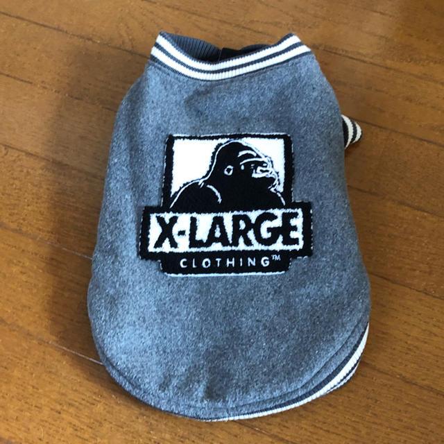 XLARGE(エクストララージ)のDM*XLARGE OGロゴバーシティジャケット その他のペット用品(犬)の商品写真