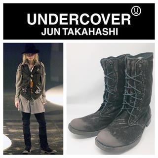 アンダーカバー(UNDERCOVER)の美品Undercoverism2004AW But Beautiful期ブーツ (ブーツ)