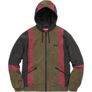 シュプリーム(Supreme)のsupreme Silk Hooded Jacket(ナイロンジャケット)
