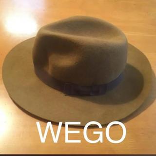 ウィゴー(WEGO)のWEGO ウール フェルト ベージュ ハット(ハット)