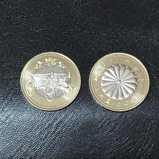 天皇陛下在位30年記念硬貨★500円硬貨2枚(貨幣)
