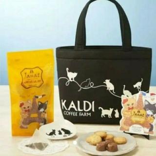 カルディ KALDI 猫の日 ネコの日 バッグ(トートバッグ)