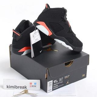ナイキ(NIKE)の込 17 Air Jordan 6 Infrared インフラレッド キッズ(スニーカー)