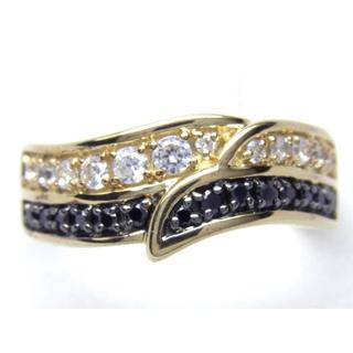 K10 ブラック ダイヤモンド リング(リング(指輪))