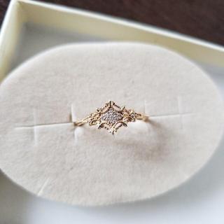 アガット(agete)のagete ダイヤモンドリング(リング(指輪))