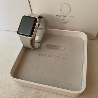 アップルウォッチ(Apple Watch)の【ホワイト】Apple Watch Series2 38mm セラミック(その他)