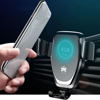 (xxx様専用)ワイヤレス充電 車載ホルダー 置くだけ充電(車内アクセサリ)