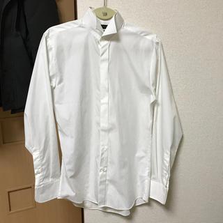 ウィングカラーシャツ 新郎 M(シャツ)