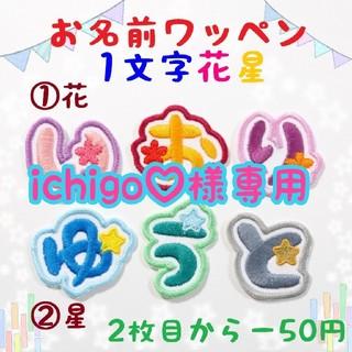 ichigo♡様専用 お名前ワッペン(ネームタグ)