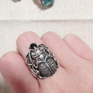 シルバー925 スカラベリング silver ring(リング(指輪))