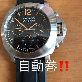パネライ(PANERAI)のオートマチック‼️自動巻‼️中古品 ‼️ PANERAI LUMINOR ⁉️(腕時計(アナログ))