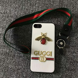 GUCCIiPhone 7と8電話ケース
