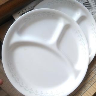 割れにくいお皿  コレール  ランチプレート2枚セット