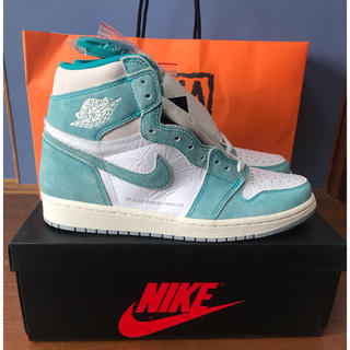 NIKE - NIKE AIR JORDAN 1 TURBO GREEN 27.5