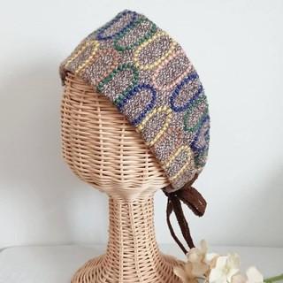ミナペルホネン(mina perhonen)の【handmade】ミナペルホネン ヘアターバン(ヘアバンド)