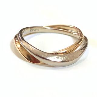 ヨンドシー(4℃)の4℃ k18 2連 リング(リング(指輪))