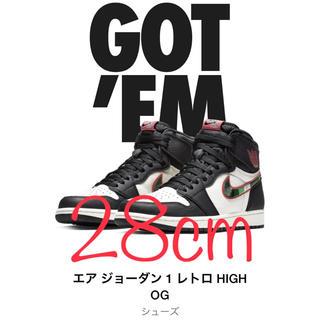 NIKE - 【国内正規品】 エア ジョーダン 1 レトロ HIGH OG 28cm