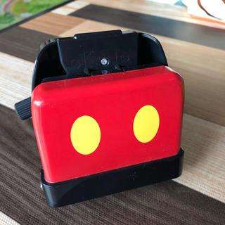 ディズニー(Disney)のベビーカー たためるボトルホルダー ミッキマウス 未使用品(ベビーカー用アクセサリー)