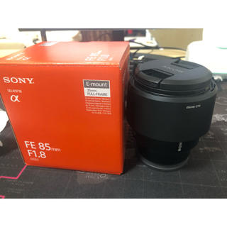 SONY - SONY FE 85mm f1.8 単焦点レンズ