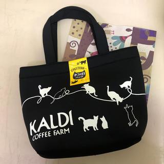 カルディ(KALDI)のカルディ ネコの日 バッグ(トートバッグ)