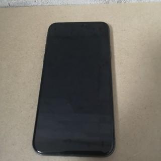 アイフォーン(iPhone)のiphone X simフリー 256GB space gray(スマートフォン本体)