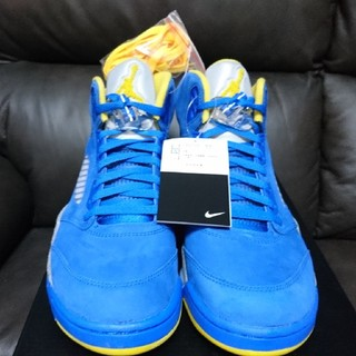NIKE - 27cm【送料込】NIKE AIR JORDAN 5 RETRO LANEY