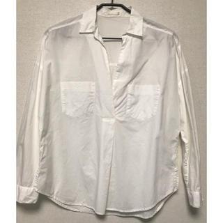 ジーユー(GU)のGU  スキッパーシャツ(シャツ/ブラウス(長袖/七分))