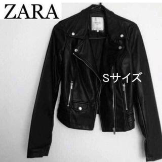 ZARA - 大人気希少!モデル愛用ライダースジャケット
