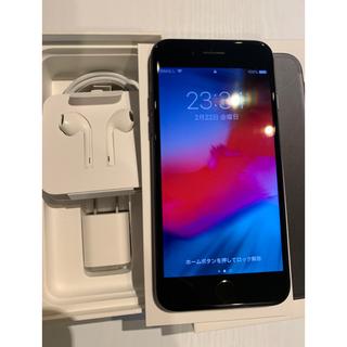アイフォーン(iPhone)のiPhone 7 black 32GB au(スマートフォン本体)