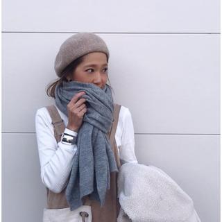 ザラ(ZARA)のZARA ウール ベレー帽(ハンチング/ベレー帽)
