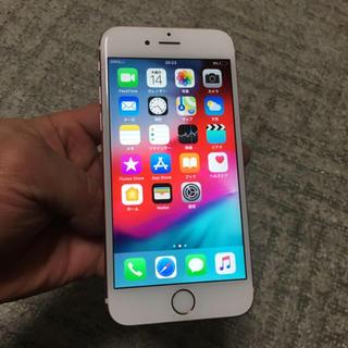 アイフォーン(iPhone)のiPhone 6s 64GB rose gold Softbank (スマートフォン本体)