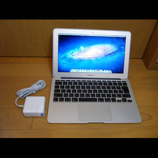 アップル(Apple)のmba384★ MacBook Air 11in Late2010 (ノートPC)