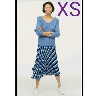 エイチアンドエム(H&M)の新作★新品タグ付き H&M プリーツスカート XS ZARA ザラ(ロングスカート)